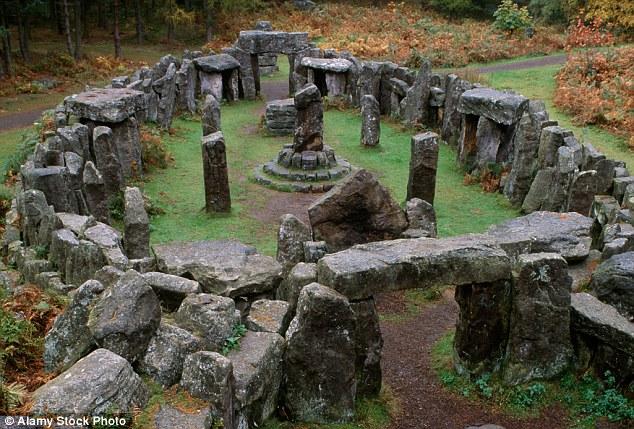 Druid's Temple Swinton Park Yorkshire1800