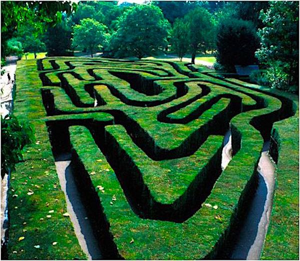 Maze, Hampton Court