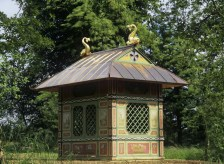 The Chinese House at Stowe House, Buckinghamshire, 1730