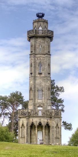 BrizleeTower Alnwick Northumberland1781