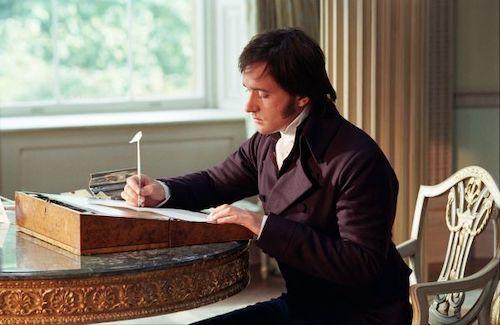 Mr. Darcy's letter to Jane Austen