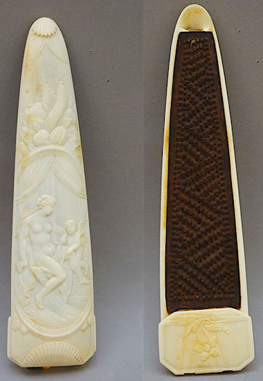 ivory snuffrasp