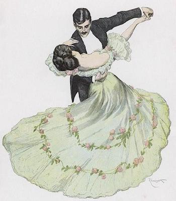 "Come ""Waltz"" With Me. A History of the Supreme Dance of Romance."