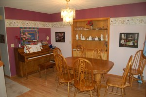 Dining Room before the staging