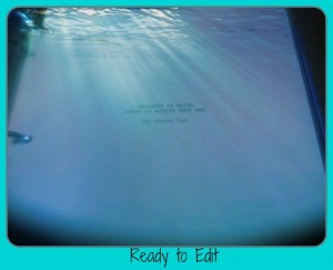 cover sheet ready to edit