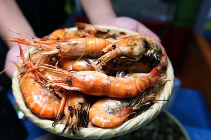 那兩蚵流水蝦吃到飽  百萬夜景太迷人 還有鮮蚵干貝扇貝三點蟹鮮榨生啤通通吃喝到飽