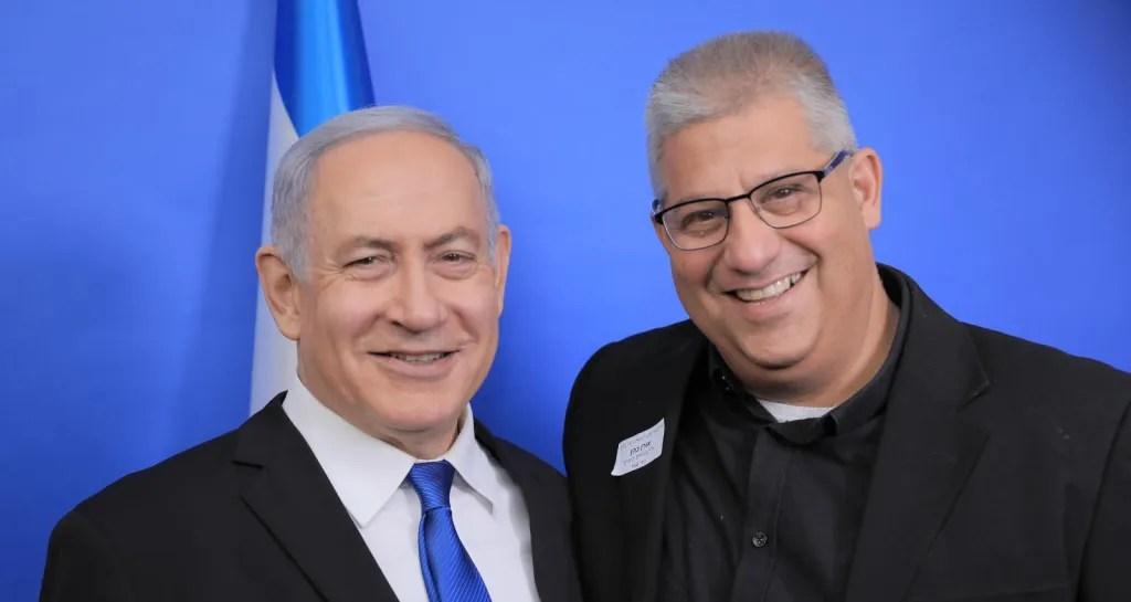 ראש הממשלה ביבי נתניהו ואורן כהן, סגן ראש העיר כפר סבא