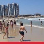 חוף אכדיה הרצליה יולי 2020