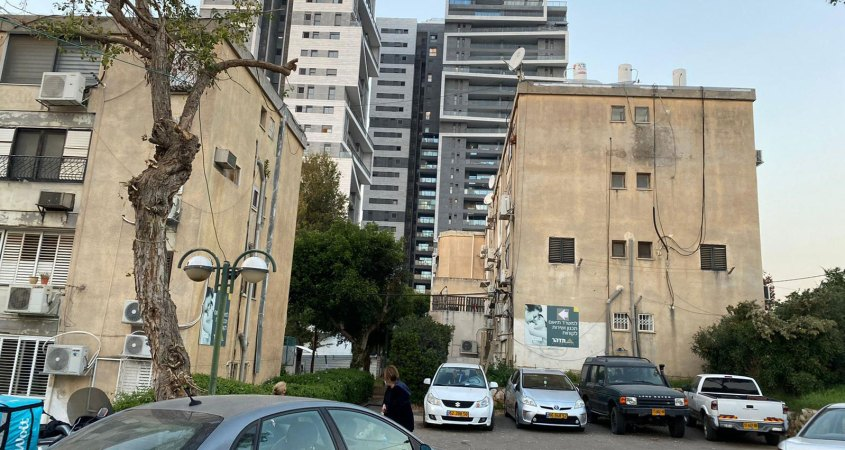 רחוב ההגנה בהרצליה - פינוי בינוי