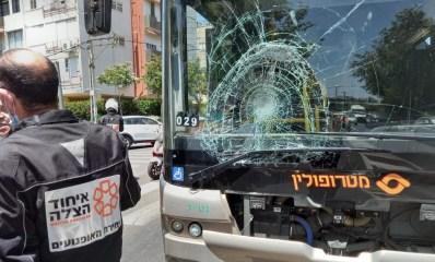 תאונת דרכים ברחוב ויצמן בהרצליה