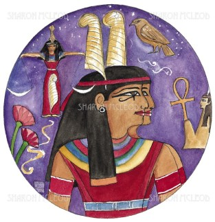 Maat is the ancient Egyptian goddess of truth, law, justice, and morality. It is said she is the one who weighs our hearts against a feather when we die, to judge how kind we have been during our lives.