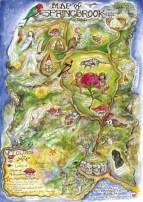 Faery Map of Springbrook