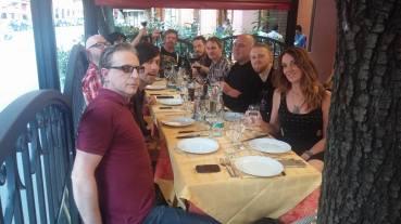 EODM dinner in Bologna, Italy