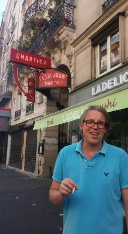 Kees in Paris!