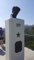 "James Dean memorial - this is where they filmed ""Rebel Without a Cause"""