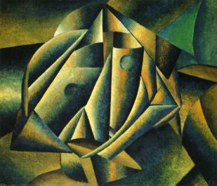 Head of a Peasant Girl, 1912-1913