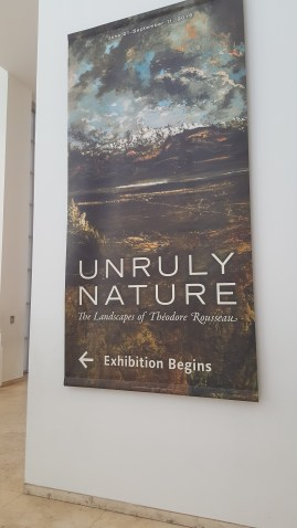 One of the exhibitions we visited.