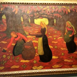 I forgot who did this but I thought it looked like a Paul Gauguin RIP OFF.