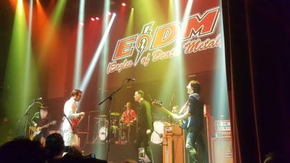 EODM with Colin Hanks on stage