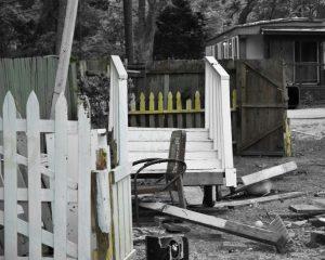 broken fences from Lost Trailer Park series