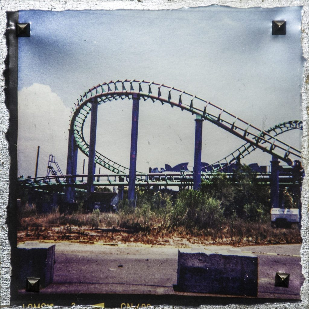 Plastic Camera Photography, six flags under katrina