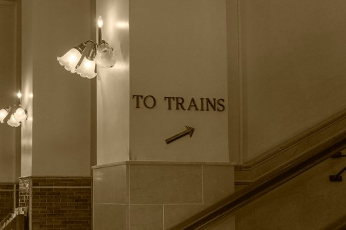 Inside Main Street Station in Richmond, VA