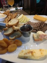Charcuterie board at Green Dragon