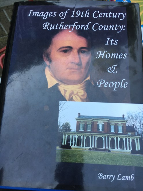 Historic homes in Murfreesboro. The airbnb we stayed in was in this book.