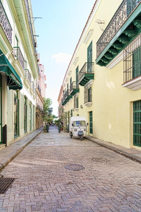 Havana Side Street by Sharon Popek