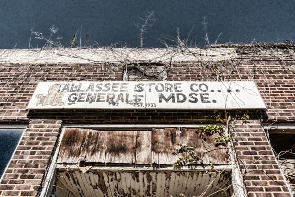 Tallassee Store Sign by Sharon Popek
