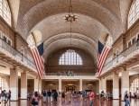 Main hall in Ellis Island