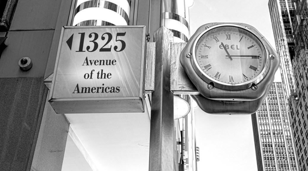 Avenue of Americas by Sharon Popekk