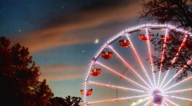 Circus Dusk by Sharon Popek