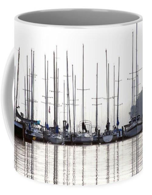 Sailboats Reflected
