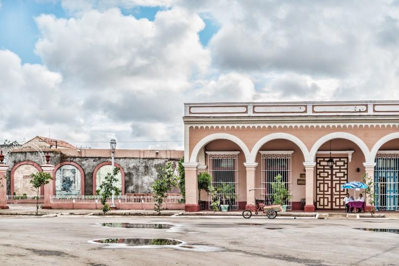 Street Scene Cuba by Sharon Popek