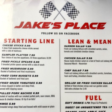 Jake's Place on Highway 411 in Maryville, TN.