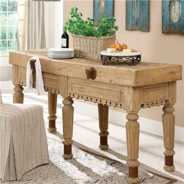 authentic tables for a french country kitchen - MY FRENCH ...