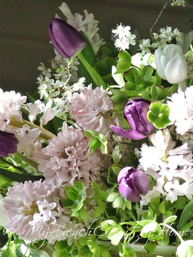 Fragrant Spring Flowers My French Country Home