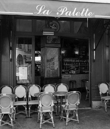 bistro la Palette , Paris 6eme