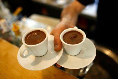 deux cafés espresso