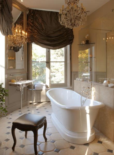 the french château bathroom - MY FRENCH COUNTRY HOME