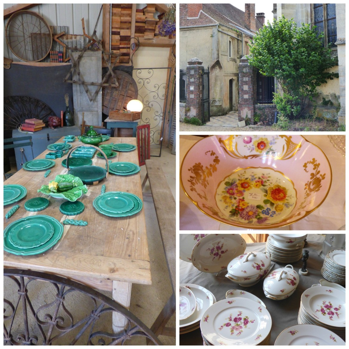 details from brocante buying tour