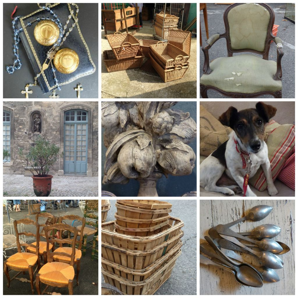 sample pictures from the MFCH brocante tour