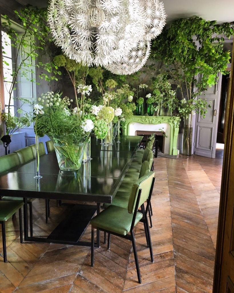 claire basler dining room