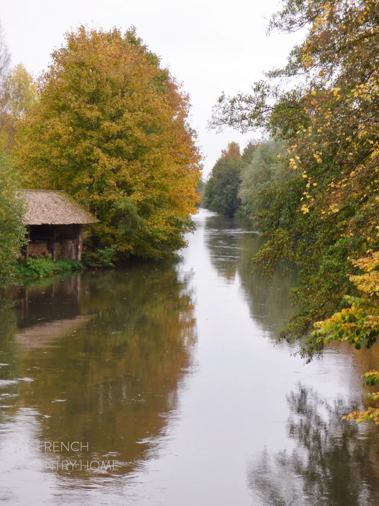 autum by the river