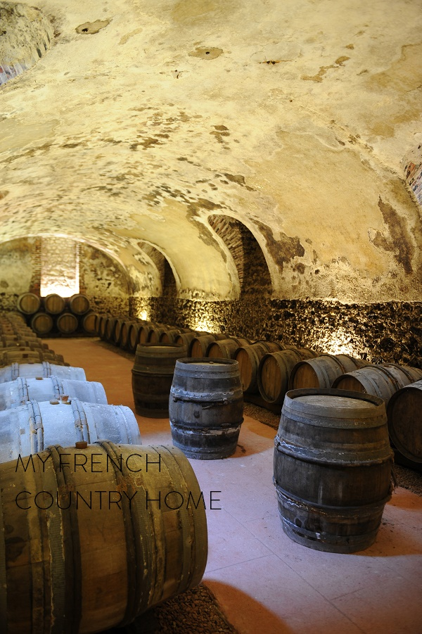 visit to champagne as part of the MFCH antique tour