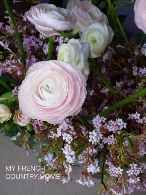PINK FLOWERS ARRANGED IN VASE