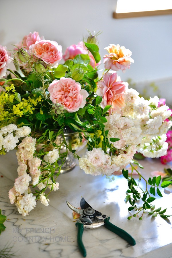 weekend flower therapy - MY FRENCH COUNTRY HOME