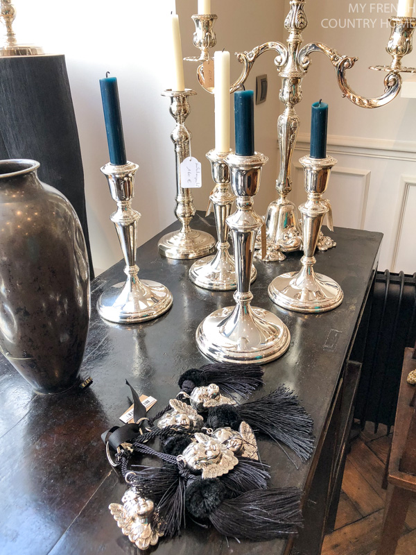 Candles and tassels, Maison du Bac- MY FRENCH COUNTRY HOME