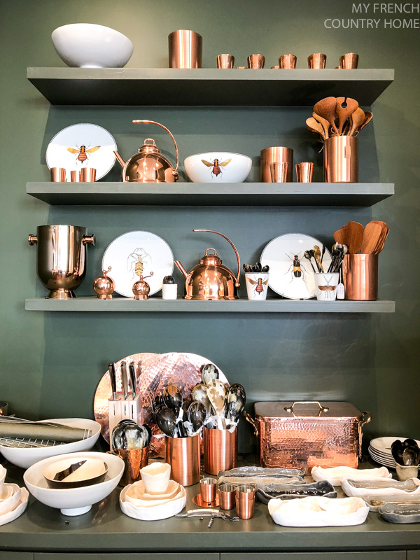 Copper and ceramics -Maison du Bac- MY FRENCH COUNTRY HOME